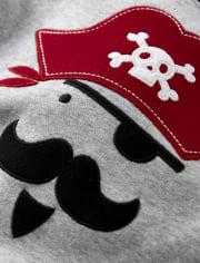 Boys Pirate Cotton 2-Piece Pajamas - Gymmies