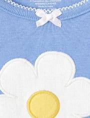 Pijama niña de 2 piezas de algodón Margaritas - Gymmies
