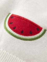 Cárdigan Niña Sandía - Sweet Watermelon