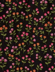 Girls Floral Leggings - Tree House