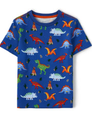Boys Print Top - Dino Dude