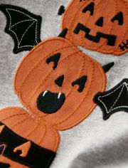 Boys Jack-O-Lantern Top - Lil Pumpkin