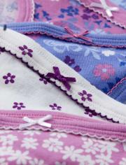 Girls Floral Briefs 7-Pack