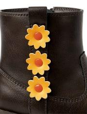 Girls Sunflower Booties - Harvest
