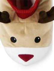 Unisex Reindeer Slippers - Gymmies