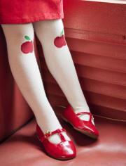 Girls Apple Ballet Flats - Teacher's Favorite