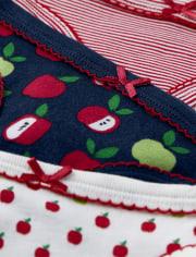 Girls Apple Briefs 3-Pack