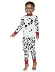 Boys Dalmatian Cotton 2-Piece Pajamas - Gymmies