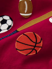 Boys Embroidered Sports Top - Future MVP