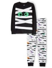 Unisex Mummy Cotton 2-Piece Pajamas - Gymmies