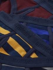 Boys Striped Briefs 7-Pack