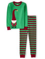 Unisex Elf Cotton 2-Piece Pajamas - Gymmies
