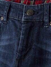 Boys Roll Cuff Jeans - Ho Ho Ho