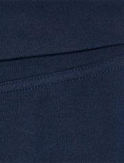 Girls Uniform Active Foldover Waist Pants