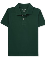 Boys Uniform Pique Polo