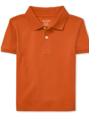 Boys Uniform Pique Polo