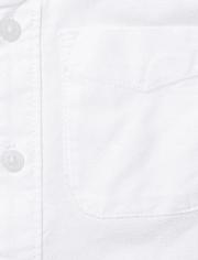 Camisa Oxford con Botones para Niños Pequeños