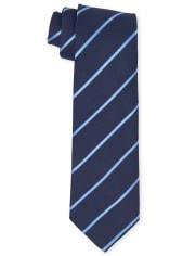 Boys Uniform Pinstripe Tie