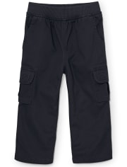 Baby And Toddler Boys Uniform Pull On Chino Cargo Pants