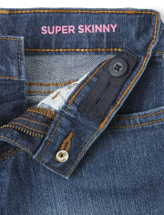 Girls Basic Super Skinny Jeans