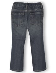 Baby And Toddler Boys Basic Bootcut Jeans