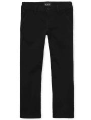 Girls Uniform Bootcut Chino Pants