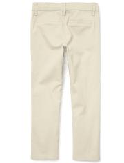 Girls Uniform Stretch Bootcut Chino Pants