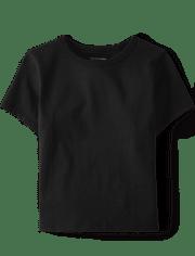 Camiseta básica uniforme para bebés y niños pequeños