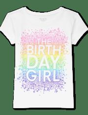 Girls Birthday Graphic Tee