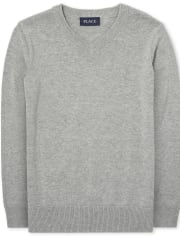Boys Uniform V-Neck Sweater