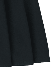 Girls Uniform Ponte Knit Skort