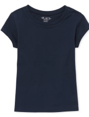 Girls Uniform Basic Layering Tee