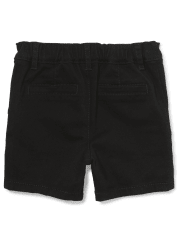 Toddler Girls Uniform Chino Shorts