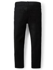 Jeans básicos superajustados elásticos para niños