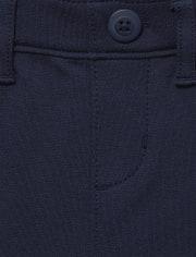 Girls Uniform Ponte Knit Pull On Jeggings