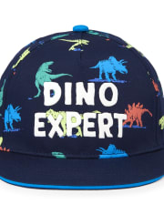 Toddler Boys Dino Expert Baseball Hat