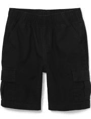 Boys Uniform Pull On Cargo Shorts