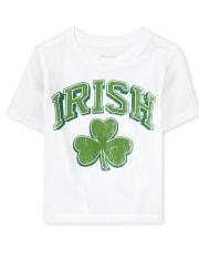 Unisex Baby And Toddler St. Patrick's Day Irish Shamrock Graphic Tee