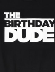Boys Birthday Dude Graphic Tee