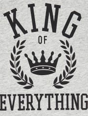 Mens Matching Family King Graphic Tee