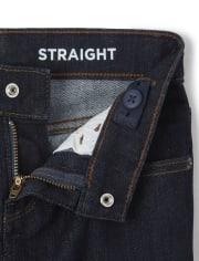 Boys Stretch Straight Jeans