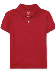 Boys Uniform Soft Jersey Polo