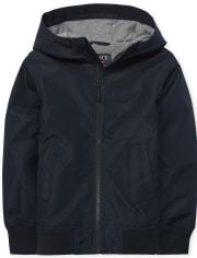 Boys Uniform Windbreaker Jacket