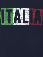 Baby And Toddler Boys Italia Graphic Tee