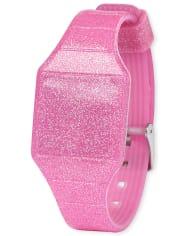 Girls Glitter Digital Watch