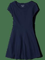 Vestido de patinadora uniforme para niñas