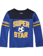 Baby And Toddler Boys Football Top