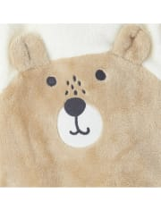 Baby Boys Bear Friends Furry Coverall