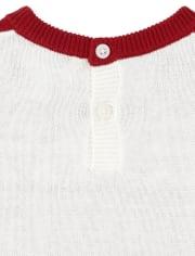 Baby Girls Heart Fair Isle Matching Sweater Dress