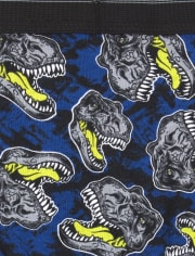 The Childrens Place Boys Dino Print Briefs Pack of Seven